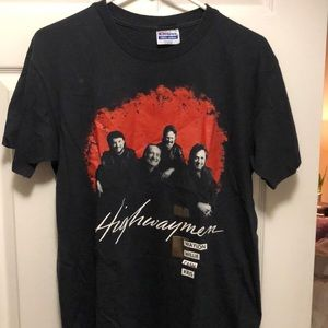 Vintage highwaymen 90' tour willie Nelson cash